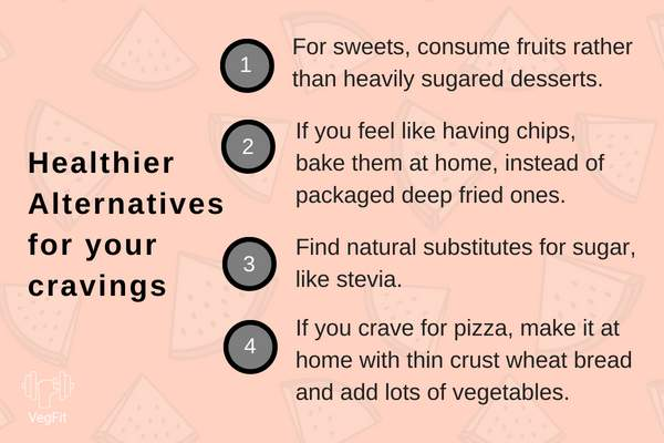 Healthier Alternatives for junk food_Infographics_VegFit