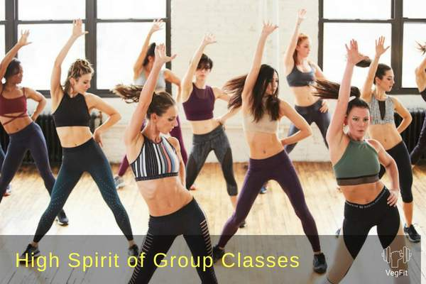 Fitness Group Class__VegFit