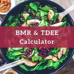 BMR TDEE Calculator_VegFit