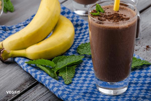 Choco Banana Shake_VegFit